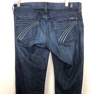 7 For All Mankind Blue Dojo Denim Jeans